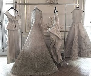 ball gown, style, and Couture image