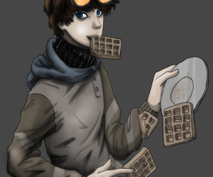 waffles, creepypasta, and ticci toby image