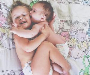 babies, girl, and twins image