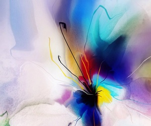 art, flower, and ? image