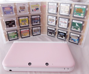 games, 3ds, and girly image