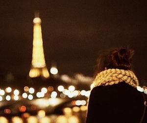 paris, girl, and light image