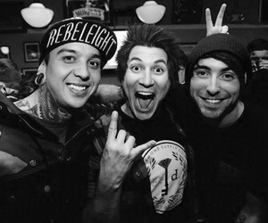 pierce the veil, all time low, and alex gaskarth image