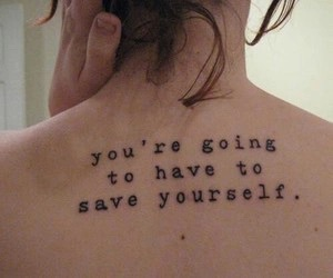 tattoo, quotes, and save image