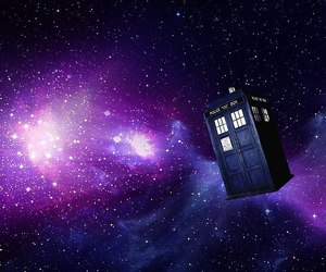 doctor who, space, and tardis image