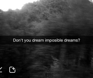 black and white, dreams, and impossible image