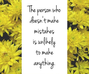 quotes, flowers, and mistakes image
