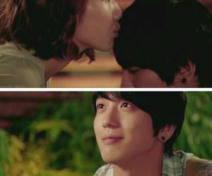 couple, jung yong hwa, and kiss image