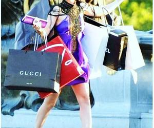 blair, gossipgirl, and shopping image