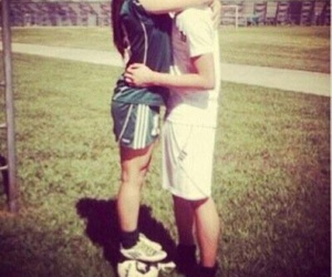 cute, couple, and football image