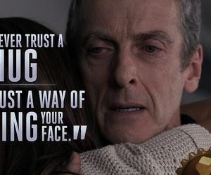 doctor who and hug image