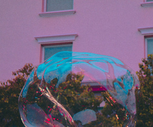 bubble, vintage, and film image