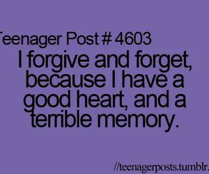 forgive, funny, and heart image
