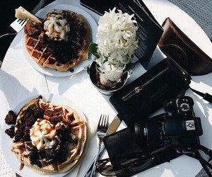 chocolate, food, and sugar image