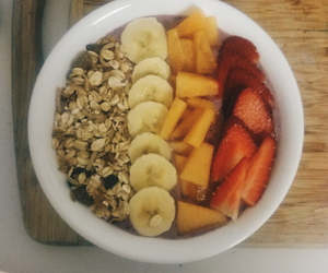 food, healthy, and smoothie bowls image