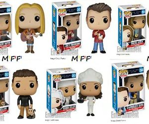 serie, funko pop, and friends image