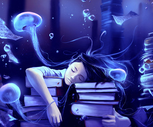 book, art, and Dream image
