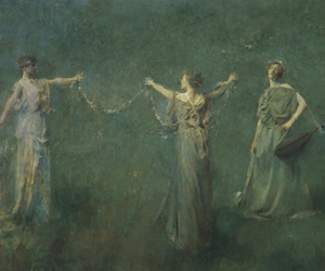 art and thomas wilmer dewing image