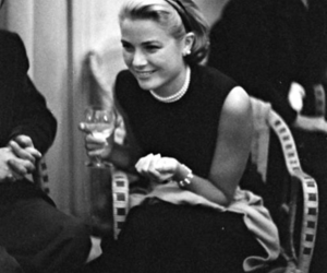 grace kelly, vintage, and black and white image