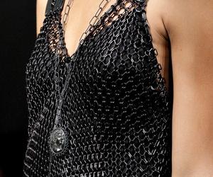black, bottega veneta, and fashion image