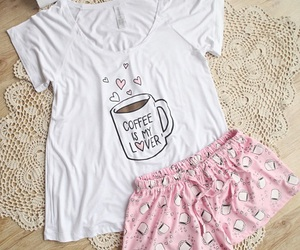 clothes, coffee, and cute image
