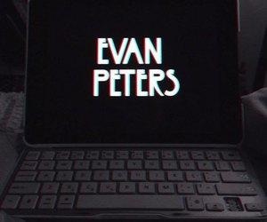evan peters and american horror story image