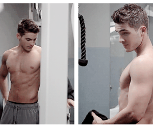 abs, cody christian, and theo raeken image