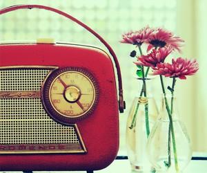 old radio and vintage image