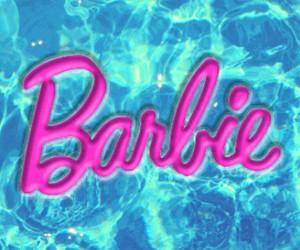 barbie and pool image