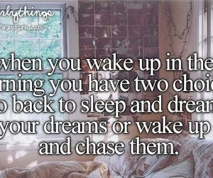 Dream, quote, and just girly things image