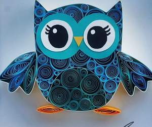 creative and owl image