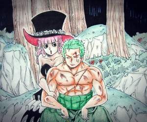 one piece, roronoa zoro, and zorona image