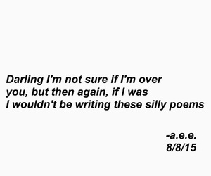 quote, grunge, and poem image