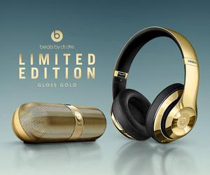 beats, cool, and gold image