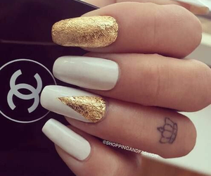 chanel, nail, and 💕 image