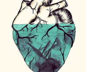 draw, heart, and hipster image