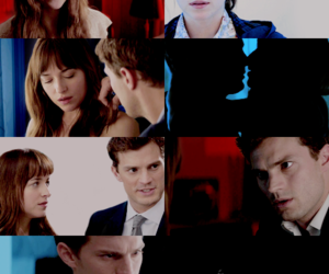 couple, movie, and christian grey image