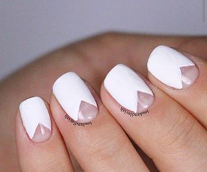 nails, classy, and white image