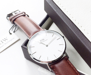 brown, classic, and clock image