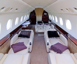 luxury and plane image