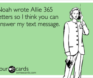 allie, funny, and notebook image