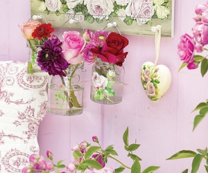 decor, lovely, and flowers image