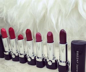 colour, fashion, and lipstick image