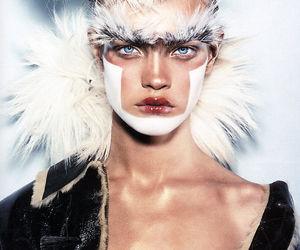fashion, girl, and Natalia Vodianova image