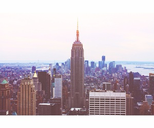 city, newyork, and town image