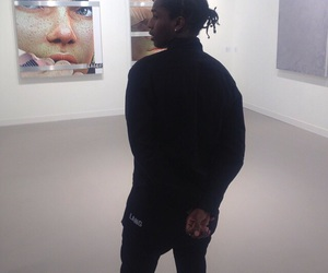 asap rocky, art, and boy image