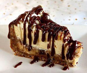 cake, cheesecake, and chocolate image