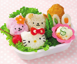food, cute, and hello kitty image