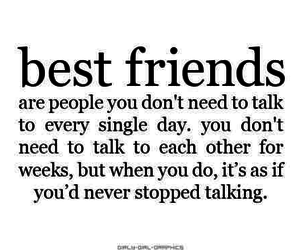 best friends, quotes, and true image