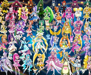 anime and pretty cure image